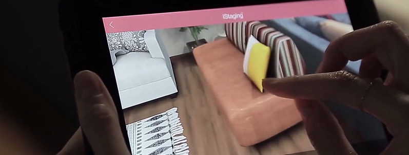 Avec la réalité augmentée, on peut essayer son bureau avant de l'acheter !