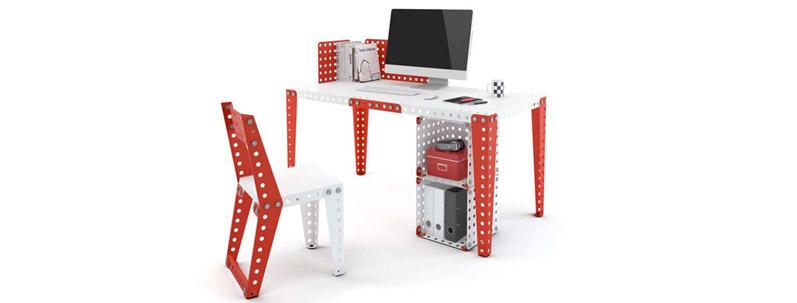 Meccano Home, un mobilier d'intérieur modulable